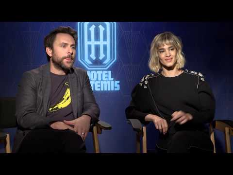 HOTEL ARTEMIS With Charlie Day & Sofia Boutella