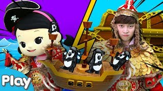 해적과 장군의 흔들흔들 해적선 보드게임 놀이 l 캐리앤 플레이