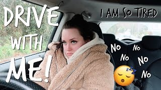 DRIVE WITH ME TO COLLEGE AT 8AM! (i hate mornings) | Zoe Mollie