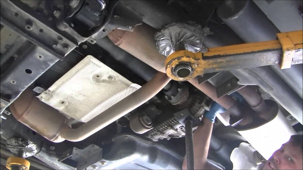 2000 Ford F150 4x4 >> Discovery LR3 - Transmission Filter and Fluid - YouTube