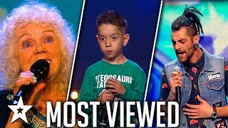 Top Most Viewed Singers Around The World 2018 Got Talent Global