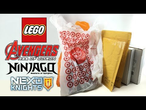 LEGO Mystery Mega Polybag Haul May 2016!