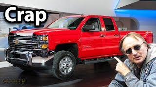 Here's Why Chevy Silverados are Crap