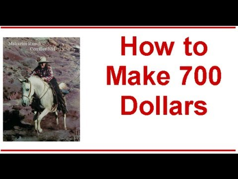 how to make 700 dollars online