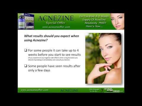The Causes of Acne & Your 3 Month Supply Of AcneZine FREE