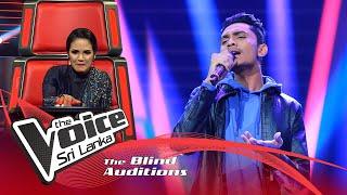 S.Ravindu Singhapura-Dew Duwa Pala Giyado Blind Auditions|The Voice Sri Lanka