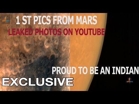 First pictures from Red Planet arrive Mangalyaan OFFICIAL Video HD Orginal Photos