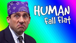 You're Going To The Office Mr |Human Fall Flat Funny Moments #1|