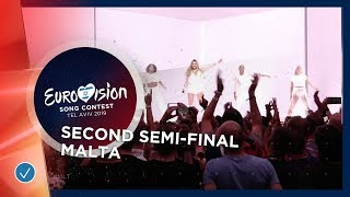 Michela - Chameleon - Malta - LIVE - Second Semi-Final - Eurovision 2019