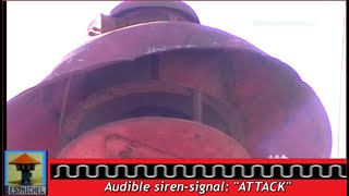 Old WW2 FIRE SIREN: ATTACK-SIGNAL