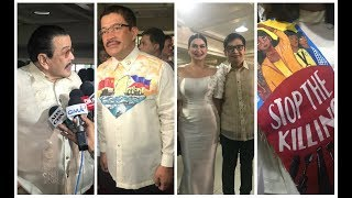 VIPs walk on SONA 2019 red carpet in classic, political fashion
