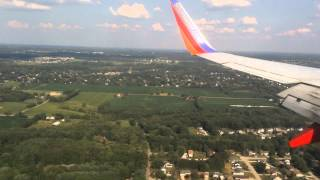 Southwest Airlines Landing at Akron-Canton (CAK)