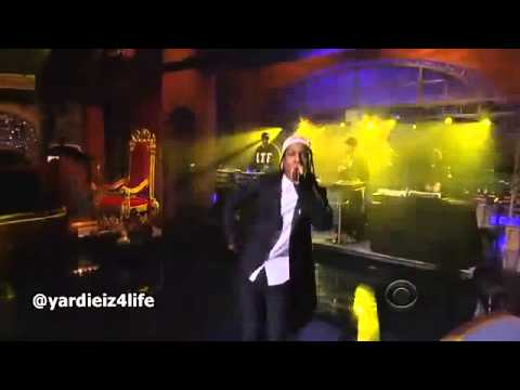 ASAP Rocky - Long Live ASAP   Wild For The Night (Live On David Letterman)
