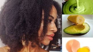 INTENSE Homemade Conditioner for 4c Natural Hair | DIY