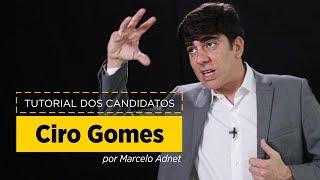 Marcelo Adnet imita Ciro Gomes