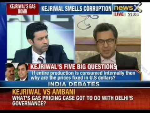 India Debate: What's the Ambani gas pricing case got to do with Delhi's Governance? - NewsX
