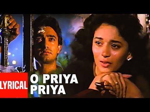 """O Priya Priya"" Full Lyrical Video || Dil || Sad Song || Aamir Khan, Madhuri Dixit"