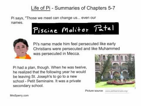 Life of Pi - Summaries of Chapters 5-7