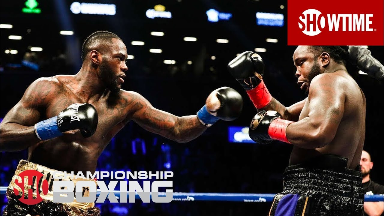 Deontay Wilder Destroys Bermane Stiverne In First Round