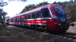 pociąg ze stacji jastarnia na chel
