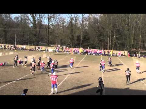 BFL 2015 Leuven Lions vs Antwerp Diamonds