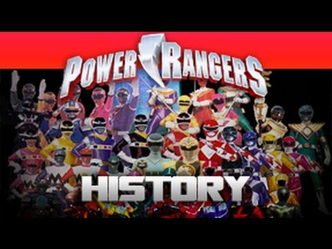 Power Ranger History Video
