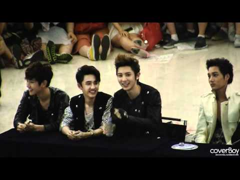 [Fancam] 120525  Happy Virus Chanyeol - Yeongdeungpo fansign event Music Videos