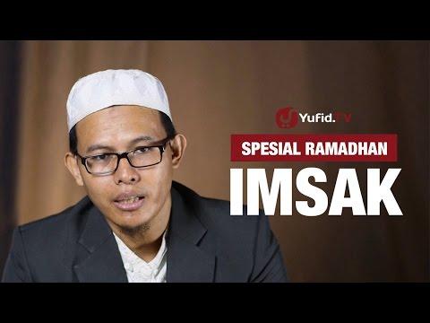 Kajian Ramadhan : Hukum Imsak - Ustadz Muhammad Romelan, Lc.