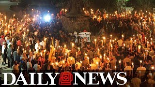 Download Torch-wielding white supremacists march through University of Virginia 3Gp Mp4