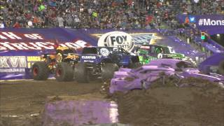 Monster Jam - FOX Sports 1 Cleatus in East Rutherford - June 14, 2014