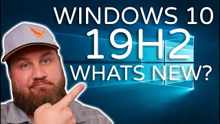 Microsoft Windows 10 Creators Update 1909 (Codenamed 19H2), What's New?