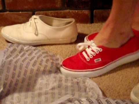 New red Vans vs Trashed Keds Champs Video