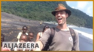 🇩🇰 Man on mission to travel to every country without planes | Al Jazeera English