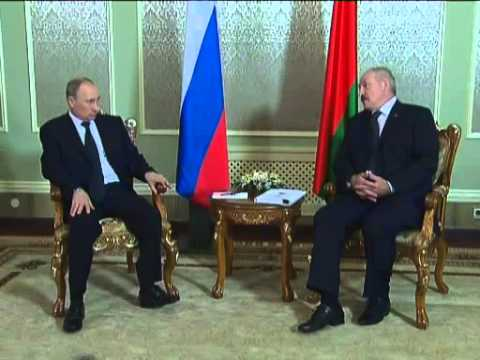 May 31, 2012 Belarus_Putin welcomes growth in trade with Belaruss