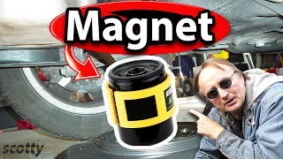 Why Not to Buy Oil Filter Magnets for Your Car - Myth Busted