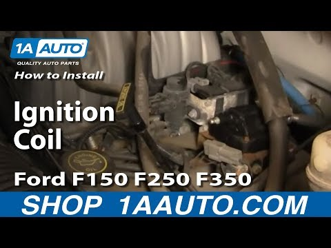 How To Install Replace Ignition Coil Ford F150 F250 F350 5.0L 5.8L 92-96 1AAuto.com