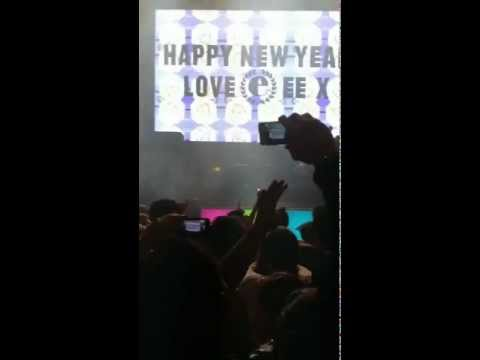 Joy Orbison @ Eastern Electrics NYE 2012 Countdown