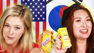 Americans & Koreans Swap Drinks