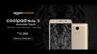 Coolpad Note 5 Launch at Rs 10999 on Amazon: Good or Bad