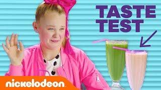Mystery Smoothie Taste Test w/ JoJo Siwa, Breanna Yde, Lilimar & More! 🍔 | #FunniestFridayEver