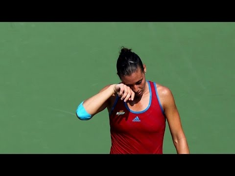 Flavia Pennetta vs Shuai Peng 2011 US Open Highlights