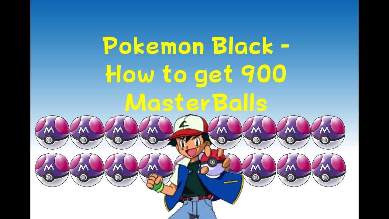 Black Pokemon Ball Pokemon Black How to Get 900