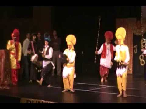 Sacramento Sikh Temple Culture Program  Pure Punjabi Bhangra...