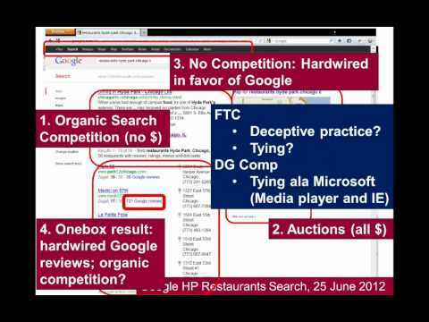 Picker American Enterprise Institute Talk: Google and Antitrust