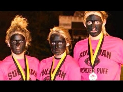 Blackface High School Girl's Football Near Ferguson video