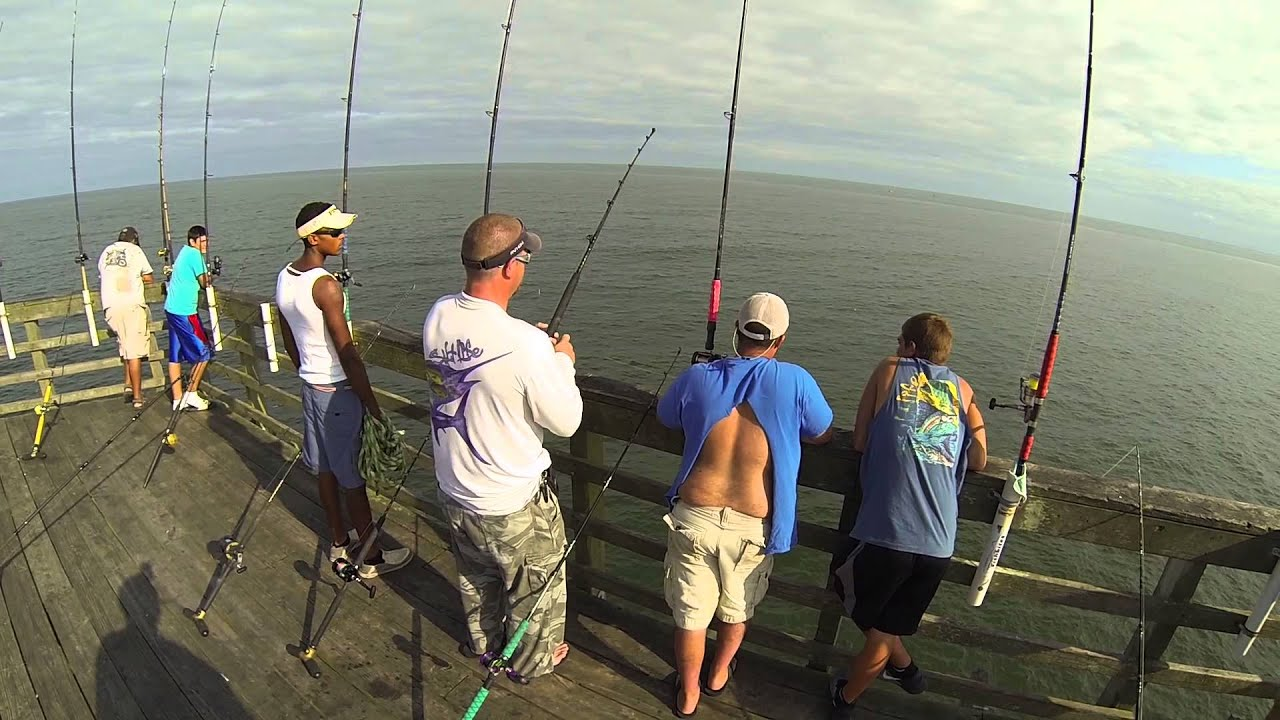 Michael siengo 34 4 lb king mackerel seaview fishing pier for Seaview fishing pier