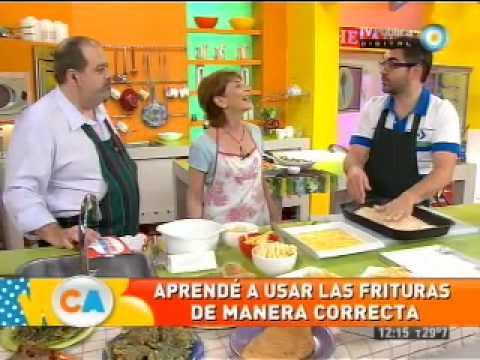 Mitos y verdades de las frituras, Mariana Koppmann en Cocineros Argentinos Noviembre 2012