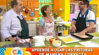 Recipe | Mitos y verdades de las frituras, Mariana Koppmann en Cocineros Argentinos Noviembre 2012 | Mitos y verdades de las frituras, Mariana Koppmann en Cocineros Argentinos Noviembre 2012