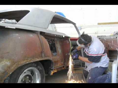 Episode 33 62 Impala Quarter Panel Replacement Youtube