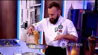 """Cucinare TV - """"Spaghetti con frutos de mar"""""""